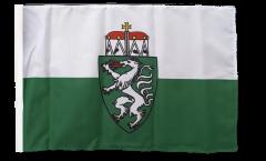Austria Styria Flag with sleeve