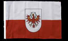 Austria Tyrol Flag with sleeve