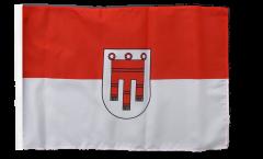 Austria Vorarlberg Flag with sleeve