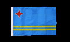 Aruba Flag with sleeve