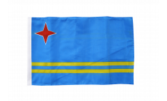Aruba Flag - 12 x 18 inch