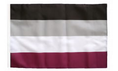 Asexual Flag - 12 x 18 inch