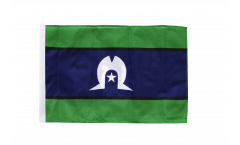 Australia Torres Strait Islands Flag with sleeve