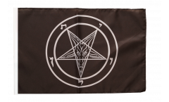Baphomet Church of Satan Flag - 12 x 18 inch