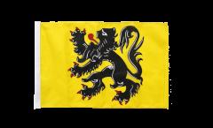 Belgium Flanders Flag with sleeve