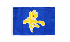 Belgium Capital Region Brussels Flag - 12 x 18 inch