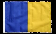 blue-gold Flag - 12 x 18 inch