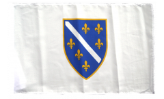 Bosnia old 1992-1998 Flag with sleeve