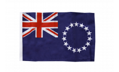 Cook Islands Flag with sleeve