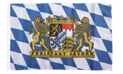 Germany Bavaria Freistaat Bayern Flag - 12 x 18 inch