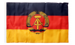Germany GDR Flag with sleeve