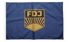 Germany GDR FDJ Free German Youth Flag - 12 x 18 inch