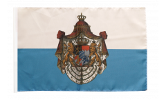 Germany Kingdom of Bavaria 1806-1918 Flag with sleeve
