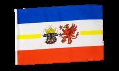 Germany Mecklenburg-Western Pomerania Flag - 12 x 18 inch