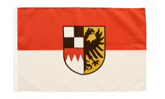 Germany Middle Franconia Flag - 12 x 18 inch