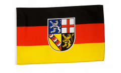 Germany Saarland Flag - 12 x 18 inch