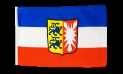 Germany Schleswig-Holstein Flag - 12 x 18 inch