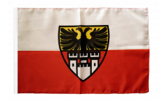 Germany Duisburg Flag - 12 x 18 inch