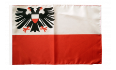 Germany Lübeck Flag - 12 x 18 inch