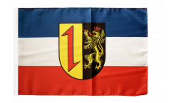 Germany Mannheim Flag - 12 x 18 inch