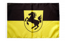 Germany Stuttgart Flag - 12 x 18 inch
