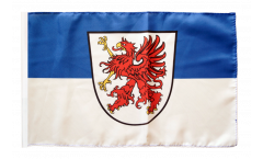 Germany West Pomerania Flag - 12 x 18 inch