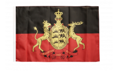 Germany Württemberg 2 Flag - 12 x 18 inch