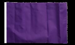 Unicolor Purple Flag - 12 x 18 inch