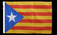 Estelada blava Catalonia Flag with sleeve