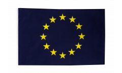 European Union EU Flag with sleeve