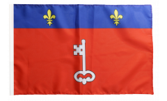 France Angers Flag - 12 x 18 inch