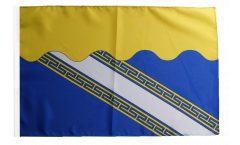 France Aube Flag - 12 x 18 inch