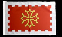 France Aude Flag - 12 x 18 inch