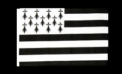 France Brittany Flag - 12 x 18 inch