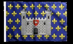 France Carcassonne Flag with sleeve