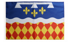 France Charente Flag - 12 x 18 inch