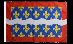 France Cher Flag - 12 x 18 inch