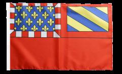 France Dijon Flag - 12 x 18 inch