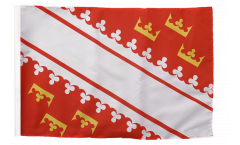 France Alsace new Flag - 12 x 18 inch