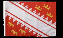 France Alsace new Flag with sleeve