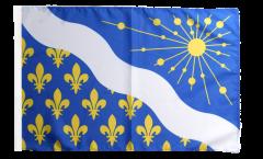 France Essonne Flag - 12 x 18 inch