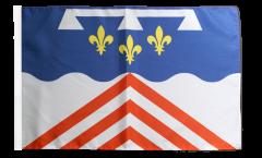 France Eure-et-Loir Flag - 12 x 18 inch