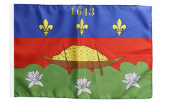 France French Guiana Cayenne Flag with sleeve