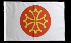France Hérault Flag - 12 x 18 inch