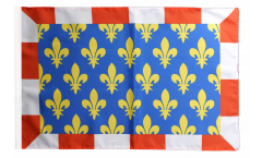 France Indre-et-Loire Flag - 12 x 18 inch