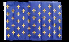 France Fleur-de-lis, blue Flag - 12 x 18 inch