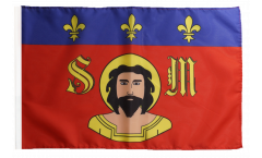 France Limoges Flag with sleeve