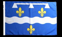 France Loiret Flag - 12 x 18 inch
