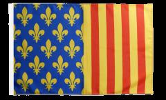 France Lozère Flag - 12 x 18 inch