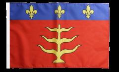 France Montauban Flag - 12 x 18 inch